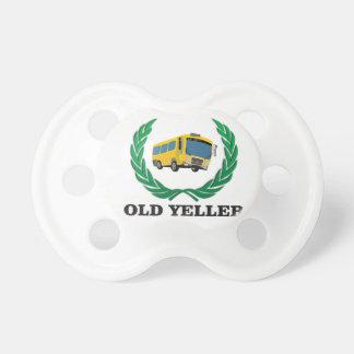 divertimento velho do ônibus do yeller chupeta de bebê