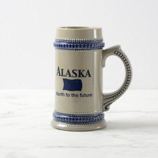 Divisa de Alaska Caneca De Cerveja