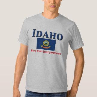 Divisa de Idaho Camisetas