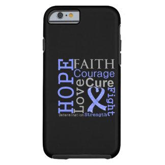 Divisa esofágica da fé da esperança do cancer capa tough para iPhone 6