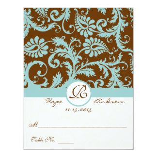 DIY que você marc e dobra cartões do lugar do Convite 10.79 X 13.97cm