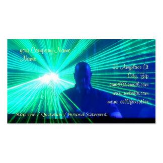 DJ no modelo de cartão de negócios das plataformas Cartoes De Visita