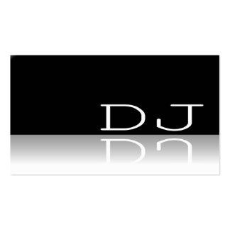 DJ - Texto reflexivo - cartão de visita