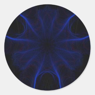 DK. Laser azul Adesivo