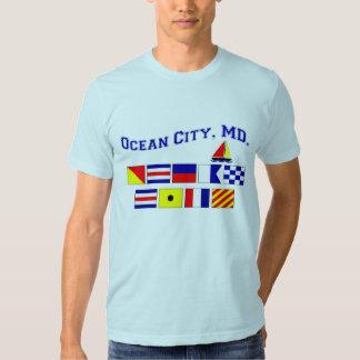 DM da cidade do oceano Tshirt