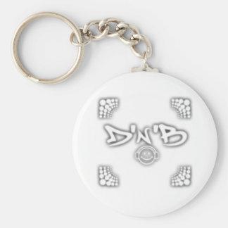 DnB porta-chaves Chaveiros