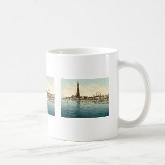 Do cais central, Blackpool, Inglaterra Caneca De Café
