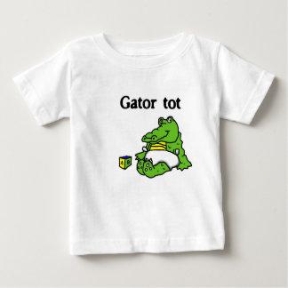 """Do """"camisa do bebê do pequeno jacaré"""" t-shirts"""