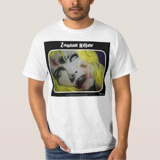 """Do """"camisa do valor do assassino zombi"""" camisetas"""