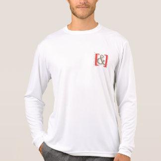 """do """"camisa original não tendida do ampersand camiseta"""