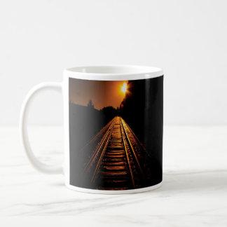 """Do """"caneca de café do alvorecer cavalete"""" caneca"""
