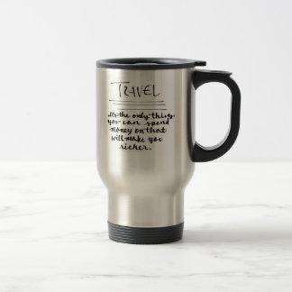 """Do """"caneca de viagem das citações viagem"""""""