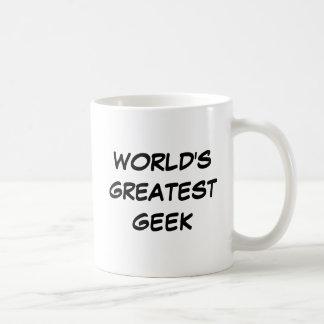 """Do """"caneca do grande geek mundo"""" caneca"""