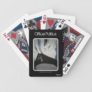 Do cartões de jogo da política escritório baralhos para pôquer