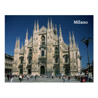 """Do """"domo IL, cartão de Milão"""" Cartão Postal"""