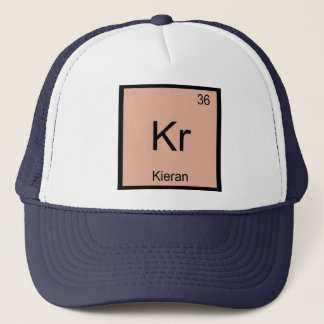 Do elemento conhecido da química de Kieran mesa Boné