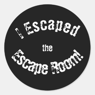 """Do """"etiquetas da realização da sala escape"""" adesivo"""