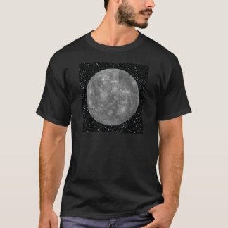 ~ do fundo da estrela de MERCURY do PLANETA T-shirt