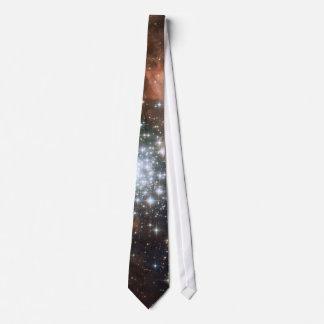 Do geek brilhante do hipster da galáxia das gravata