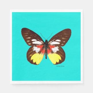 """Do """"guardanapo de papel da borboleta topázio"""" guardanapo de papel"""
