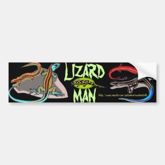 "Do ""homem lagarto "" adesivo para carro"