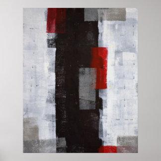 """Do """"impressão do poster da arte abstracta da"""
