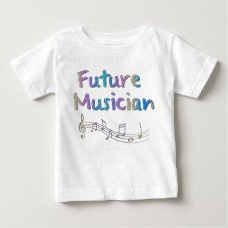 Do miúdo futuro das notas musicais do músico do camisetas