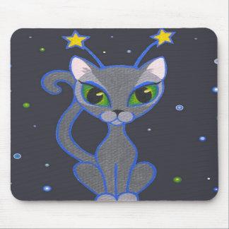 """do """"mousepad do preto do gatinho espaço"""" mouse pad"""