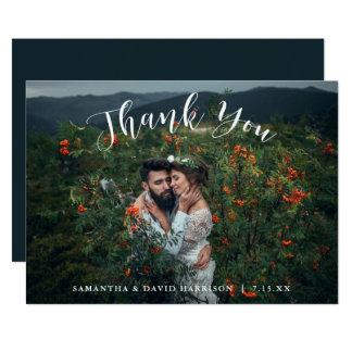 Do obrigado Wedding das montanhas | você cartão