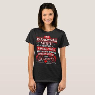 Do Paralegal da esposa do mundo do amor Tshirt