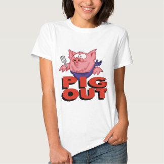 Do porco presentes das camisetas engraçadas para