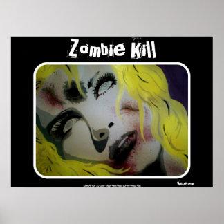 "Do ""poster do matar zombi"" pôster"