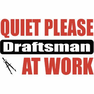 Do silêncio relator por favor no trabalho esculturafoto