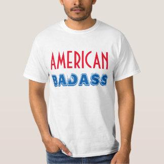 """Do """"t-shirt de Badass americano"""" Camisetas"""