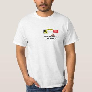 """do """"t-shirt dos homens da rocha anos 80"""" t-shirts"""