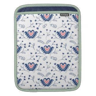 """Do """"teste padrão coração """" bolsa para iPad"""