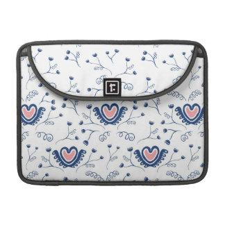 """Do """"teste padrão coração """" bolsas para MacBook pro"""