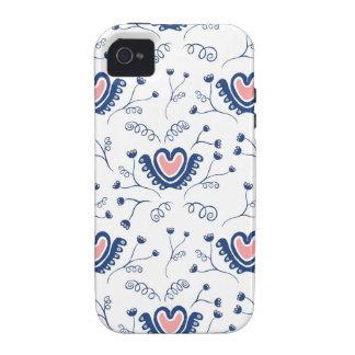 """Do """"teste padrão coração """" capinhas iPhone 4/4S"""