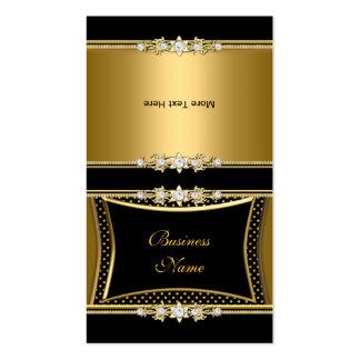 Dobre pontos elegantes da imagem da jóia do preto  cartão de visita