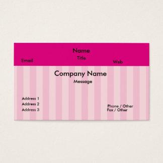 Doce como o cartão de visita dos doces