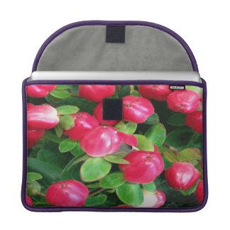doce da cereja do macbook pro bolsas para MacBook