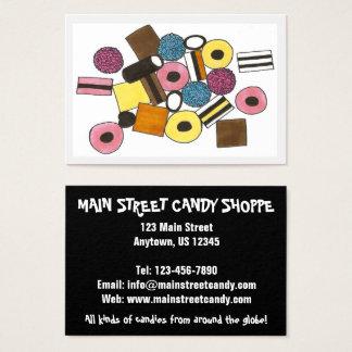 Doces Foodie da loja dos doces dos doces de Cartão De Visitas