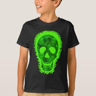 Doçura ou travessura do crânio grande dos camiseta