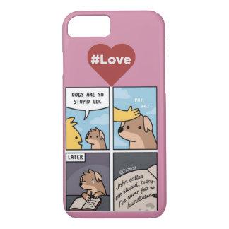 Doggy cómico capa iPhone 7