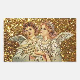 Dois anjos que cantam etiquetas das canções de