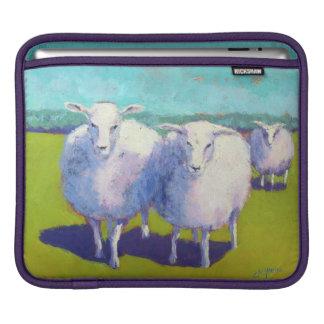 Dois carneiros no campo bolsa de iPad