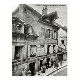 Dole; Cargo do vintage de Maison Natale de Louis P Cartão Postal