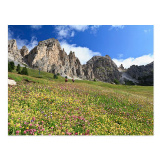 Dolomites de Cirspitzen Cartão Postal