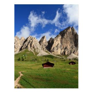 Dolomites do Cir - passagem de Gardena Cartão Postal