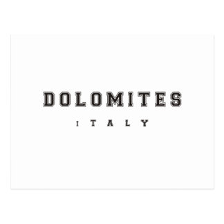 Dolomites Italia Cartão Postal
